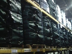 Pallet Covers - Warehousing