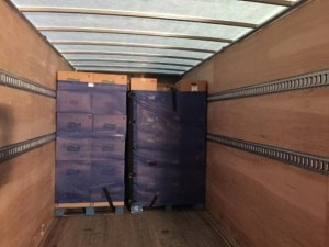 Pallet Covers - Palletization for shipping